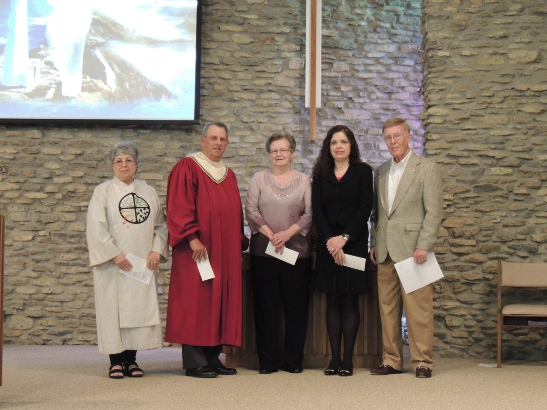 Presentation of Endowment Funds' Proceeds at Scottsburg United Methodist Church