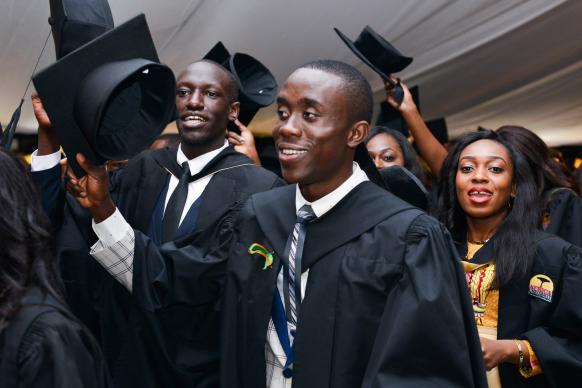 718 Graduate at AfricaUniversity!
